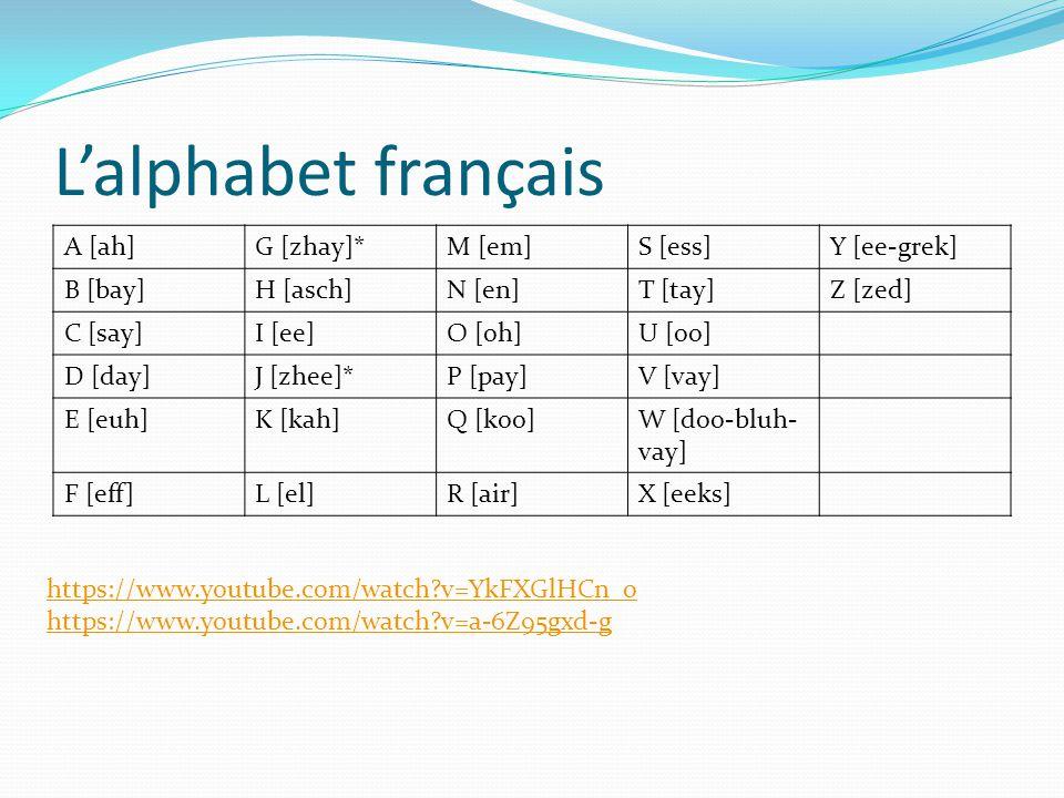 French 1: L'alphabet 9/10/ Ppt Video Online Télécharger